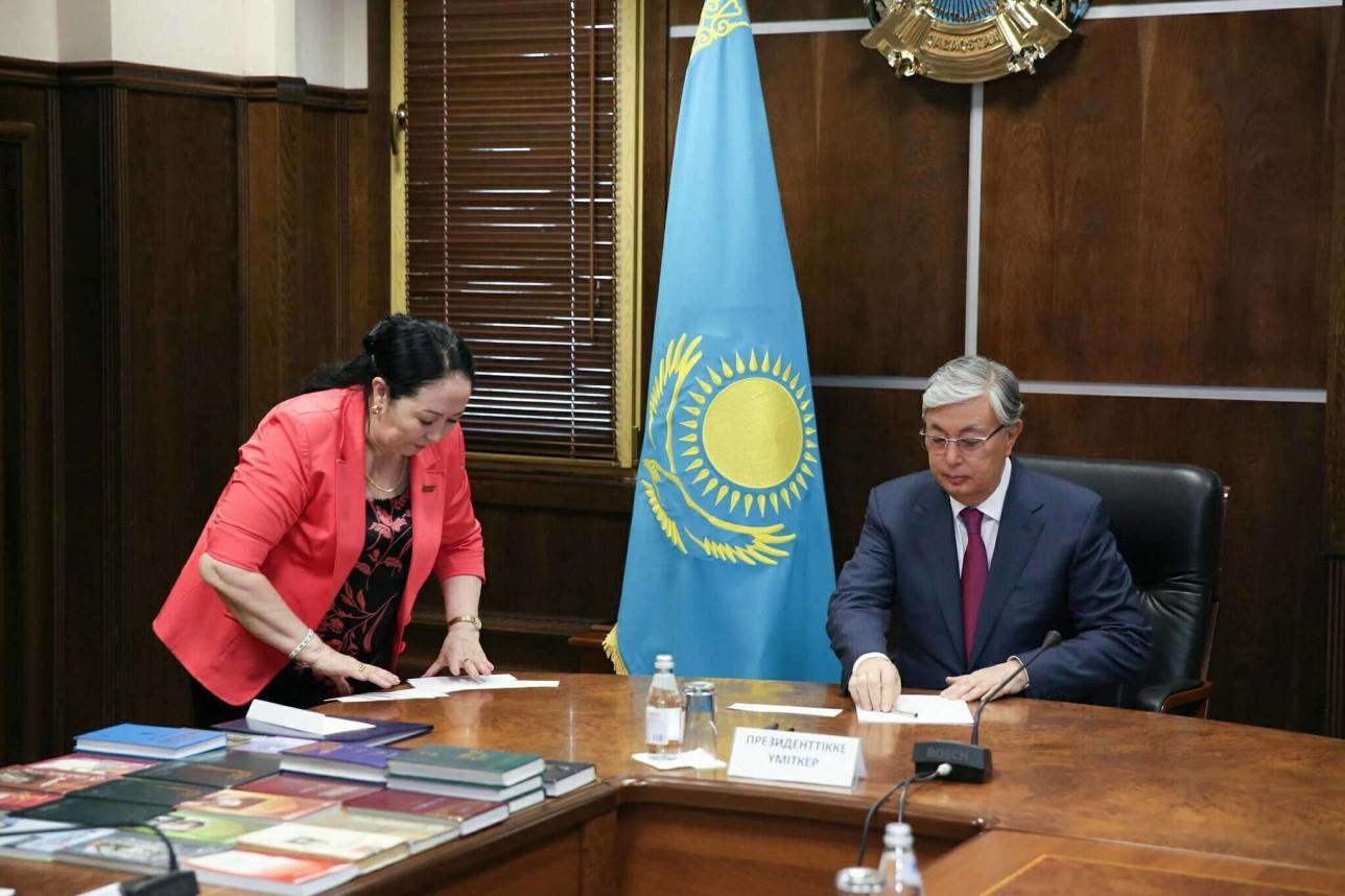 касым-жомарт токаев сдал экзамен по казахскому языку
