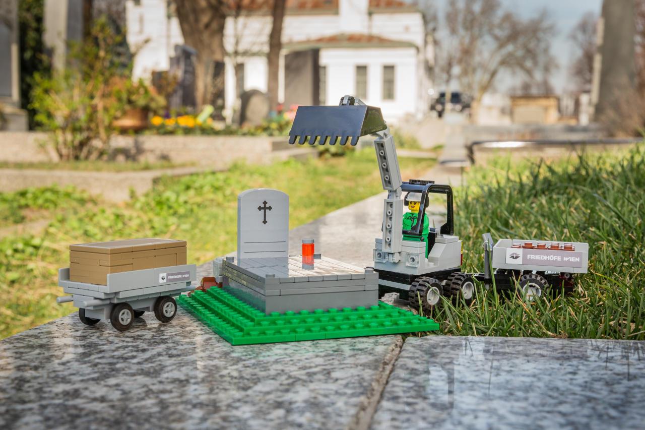 Детский конструктор LEGO выпустил похоронную коллекцию