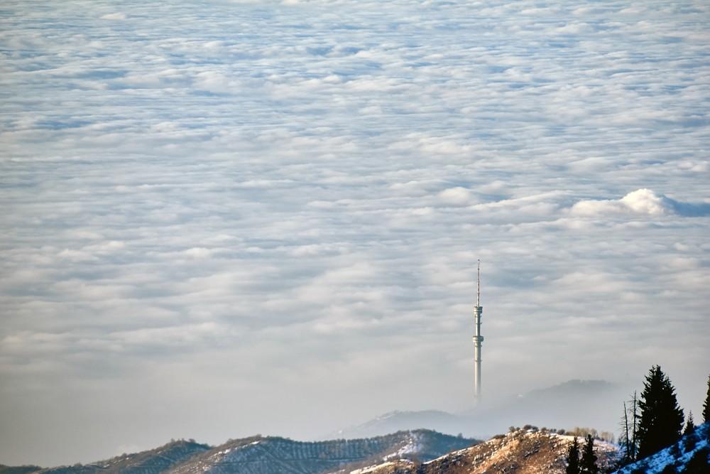 Алматы загрязнение воздуха очистить воздух город смог ТЭЦ акимат власти Казахстан