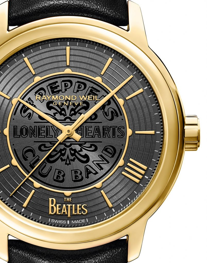 Sgt. Pepper's Sergeant Pepper's Lonely Hearts Club Band The Beatles Raymond Weil альбом часы хроногроф коллаборация