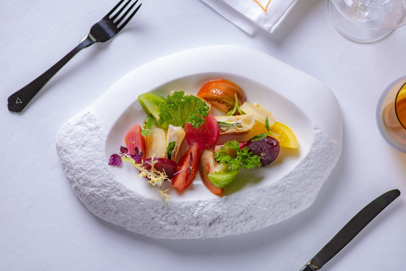fine dining Ritz Carlton Almaty Seven Bar
