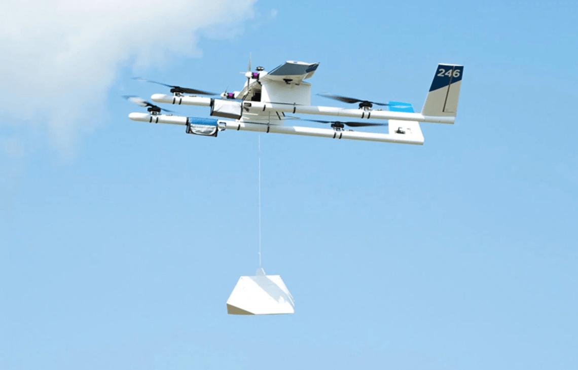 Доставку еды и лекарств дронами разрешили в Австралии