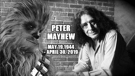 Питер Мейхью актер США Голливуд Звездные войны Чубакка смерть кино