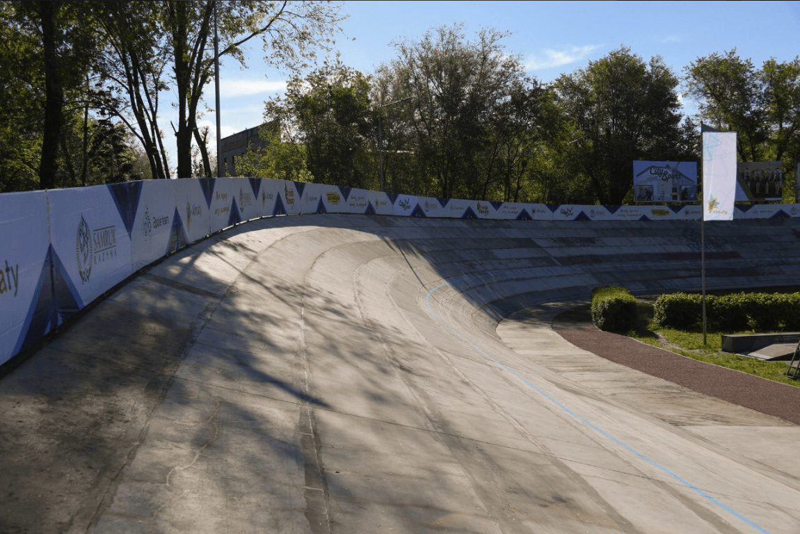 Велотрек советских времен реконструировали в Алматы