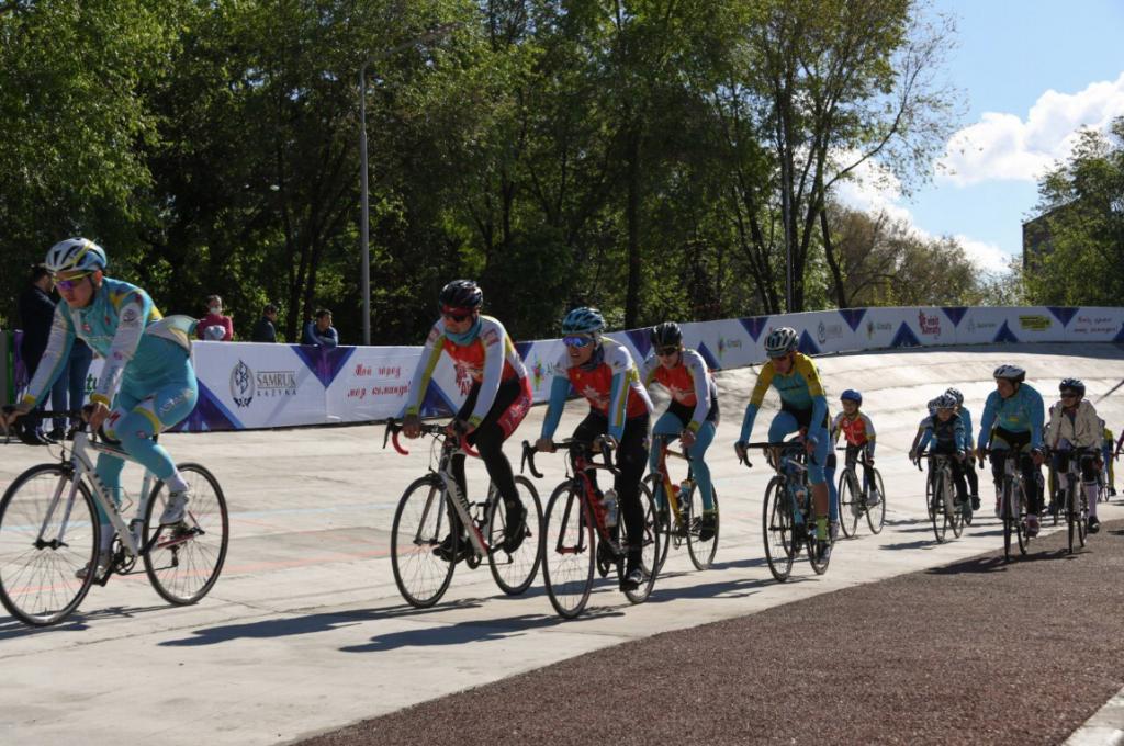 велотрек Алматы реконструкция город парк культуры и отдыха