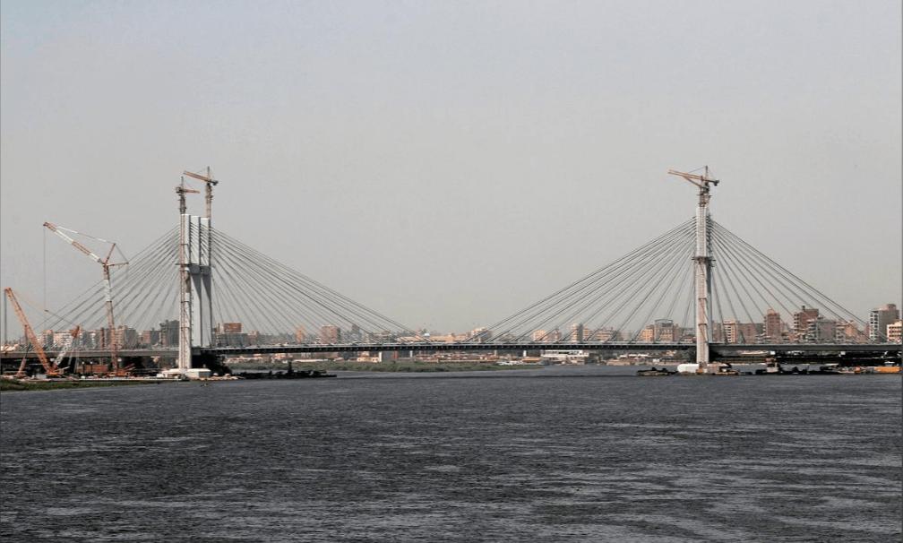 подвесной мост Египет рекорд широкий