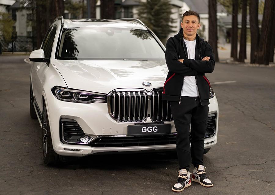 BMW X7 в Алматы Геннадий Головкин
