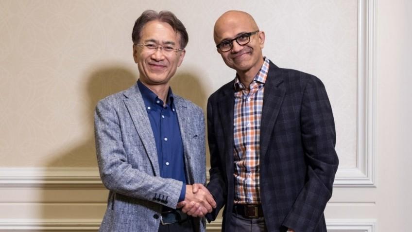 Sony Microsoft Xbox Playstation стратегическое партнерство