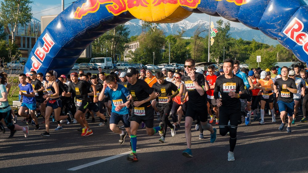 MEDEU RACE Алматы мероприятие спорт соревнование бег велосипеды
