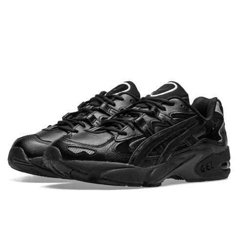 мода спорт 2019 обувь Asics черные кроссовки