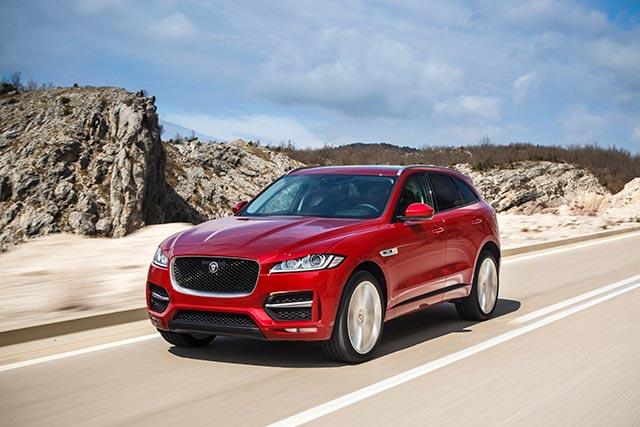 автомобили для путешествий машины дороги авто Jaguar F-Pace 2.0 R-Sport