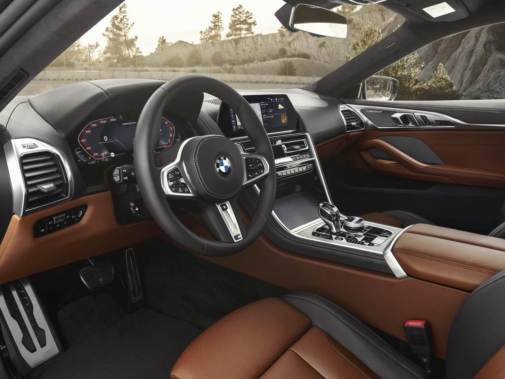 BMW впервые показала четырехдверный 8 Series Gran Coupe