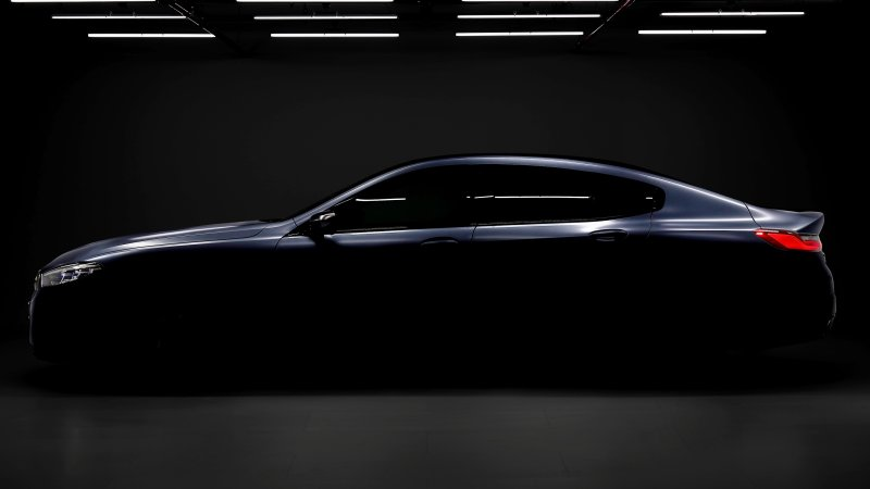 BMW 8 Series Gran Coupe новинка