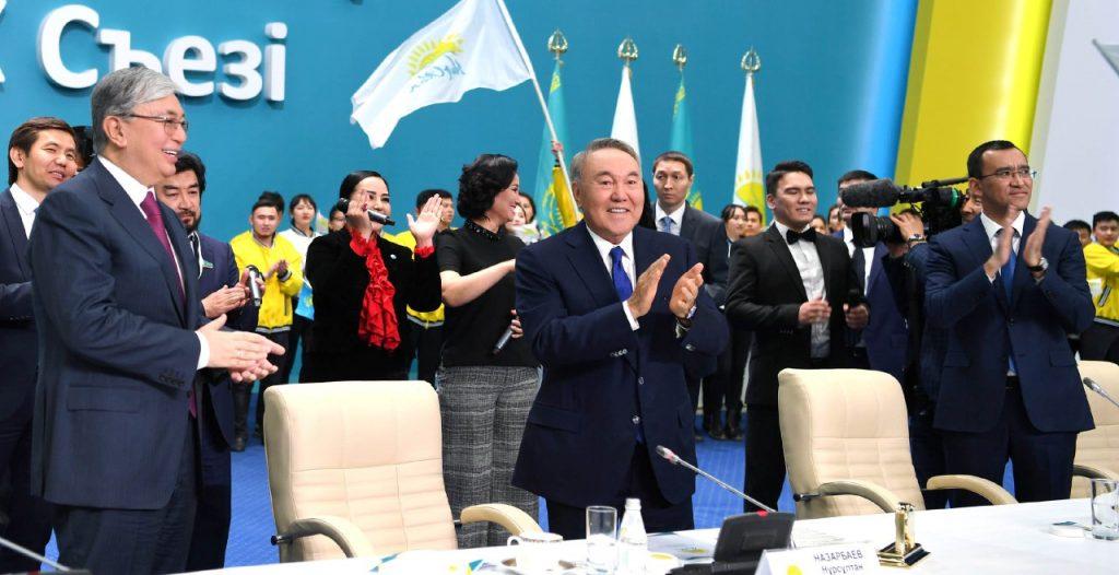 Назарбаев ССТГ Елбасы Казахстан президент почетный председатель титул