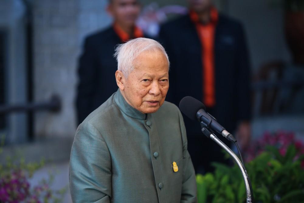 Prem Tinsulanonda Прем Тинсуланон Таиланд благотворительность смерть политика деньги