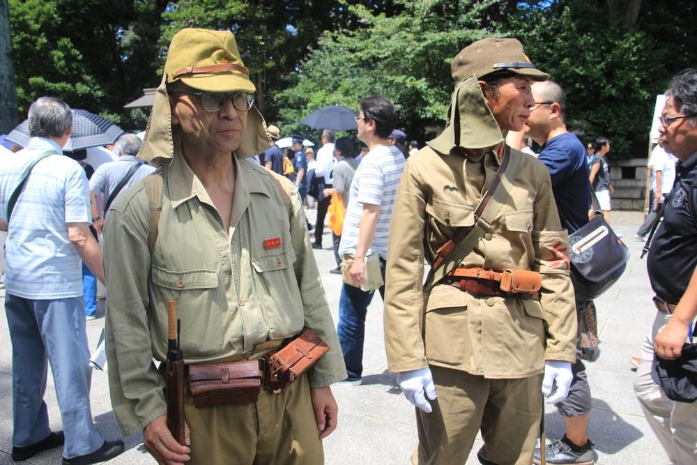 Япония военные служба войска минобороны пенсионеры