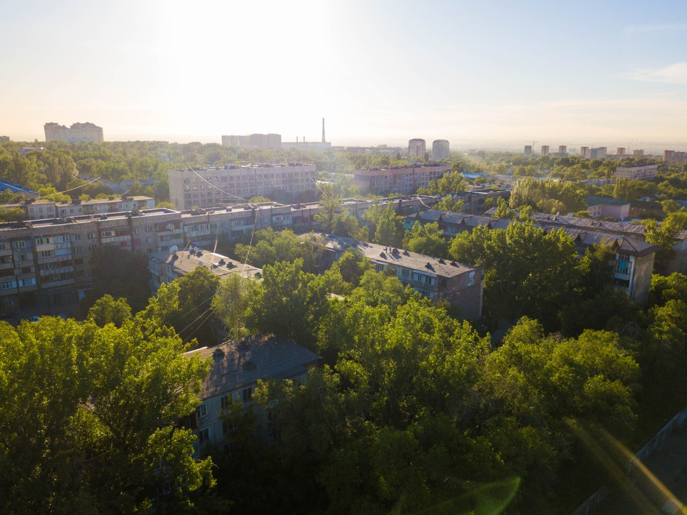 Музей истории Алматы город Казахстан культура наследие Ночь в музее