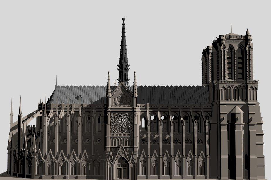 Принято решение по реставрации Собора Парижской Богоматери