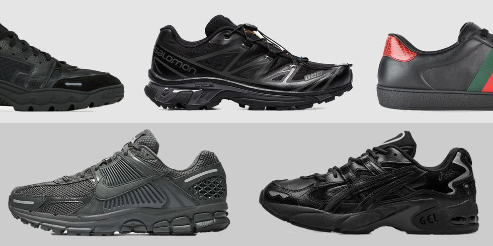 Лучшие черные кроссовки