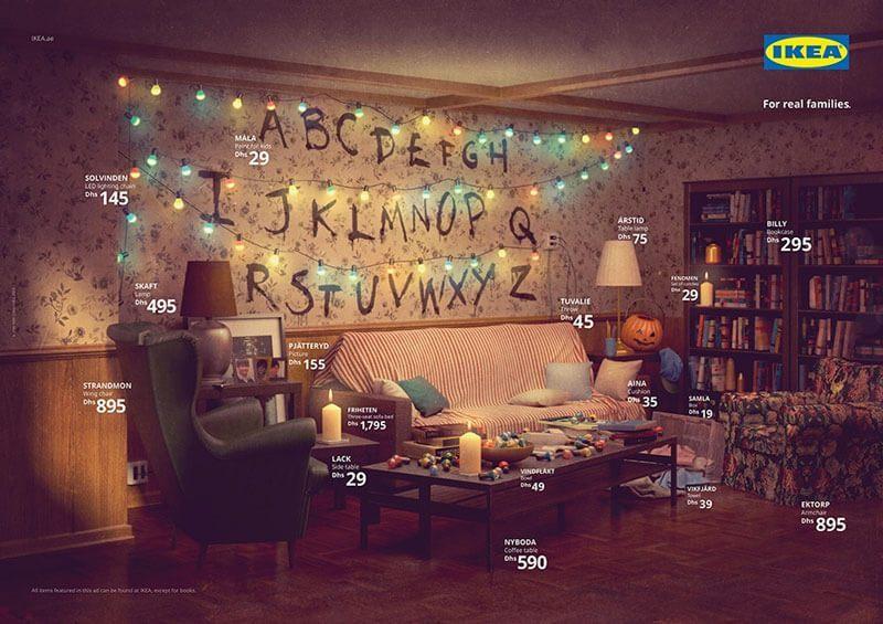 IKEA воссоздала гостиные из популярных сериалов