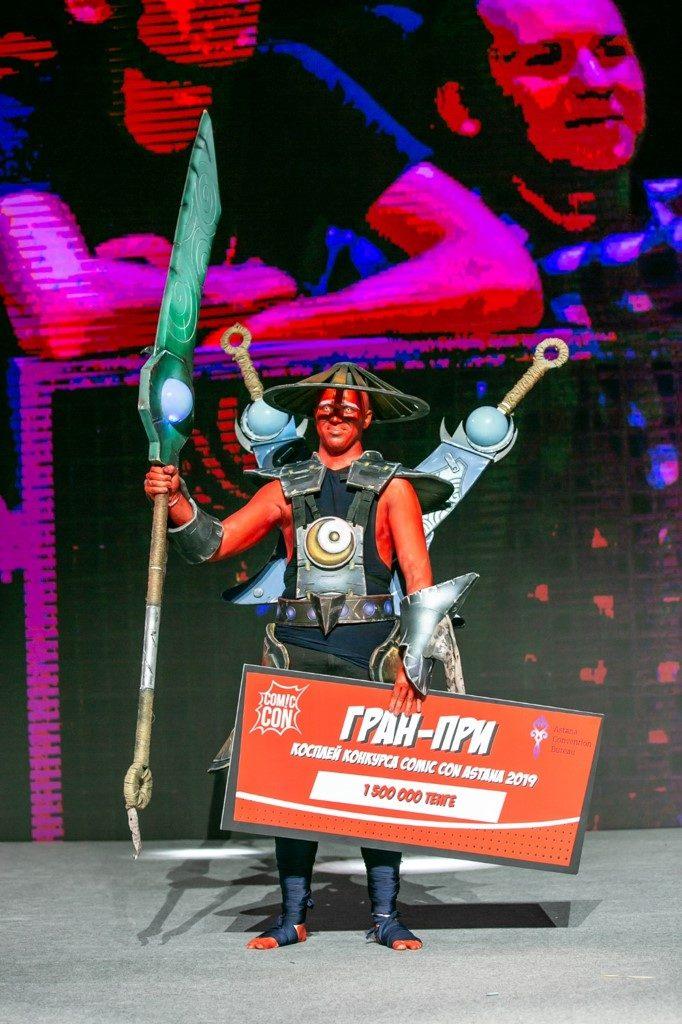 Astana Comic Con астана нур-султан комиксы событие Пила Асбек гик-фестиваль