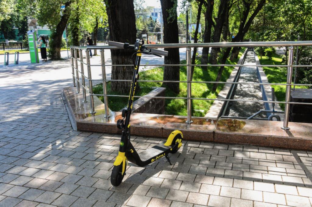 электросамокаты Алматы Казахстан аренда транспорт город передвижение