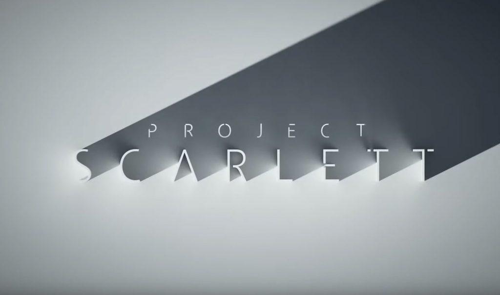 игровая приставка консоль E3 Microsoft Project Scarlett Xbox