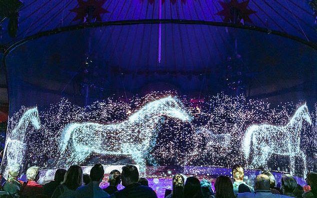 Немецкий цирк заменил настоящих животных на голограммы