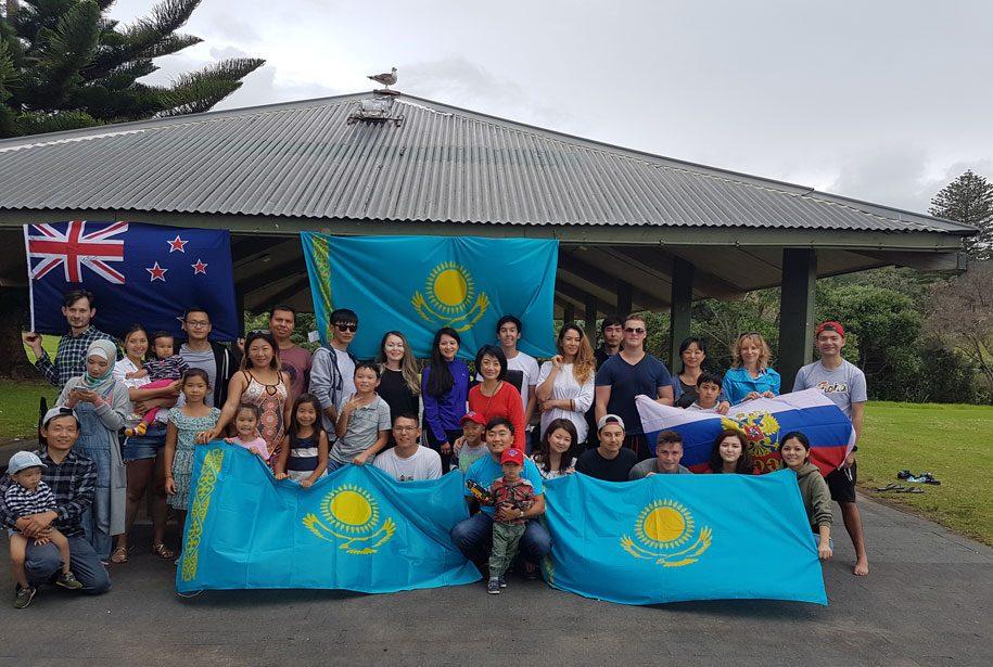 Александр Ким Окленд иммиграция Казахстан жизнь опыт казахстанцы Наурыз