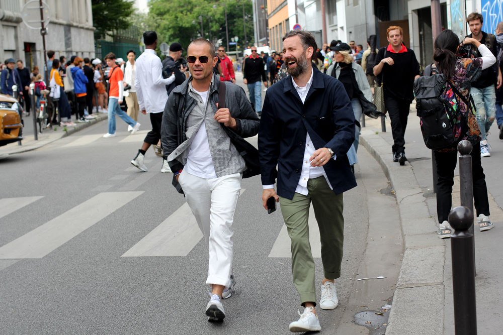 третий день недели мужской моды Париж 2019 одежда streetstyle