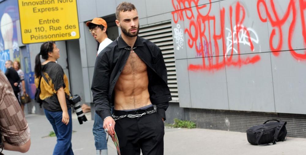 Третий день парижского streetstyle: Неделя мужской моды-2019