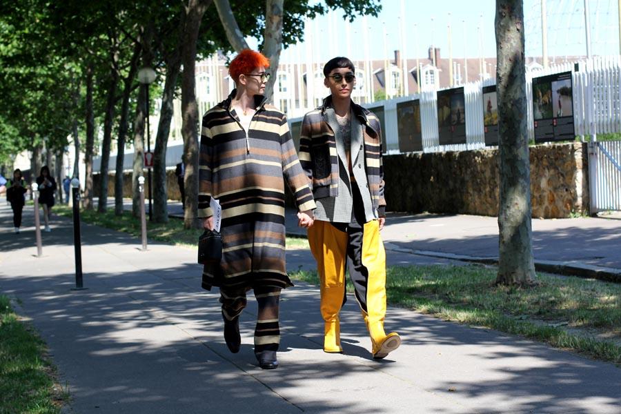 Неделя мужской моды-2019: Париж, день пятый, streetstyle