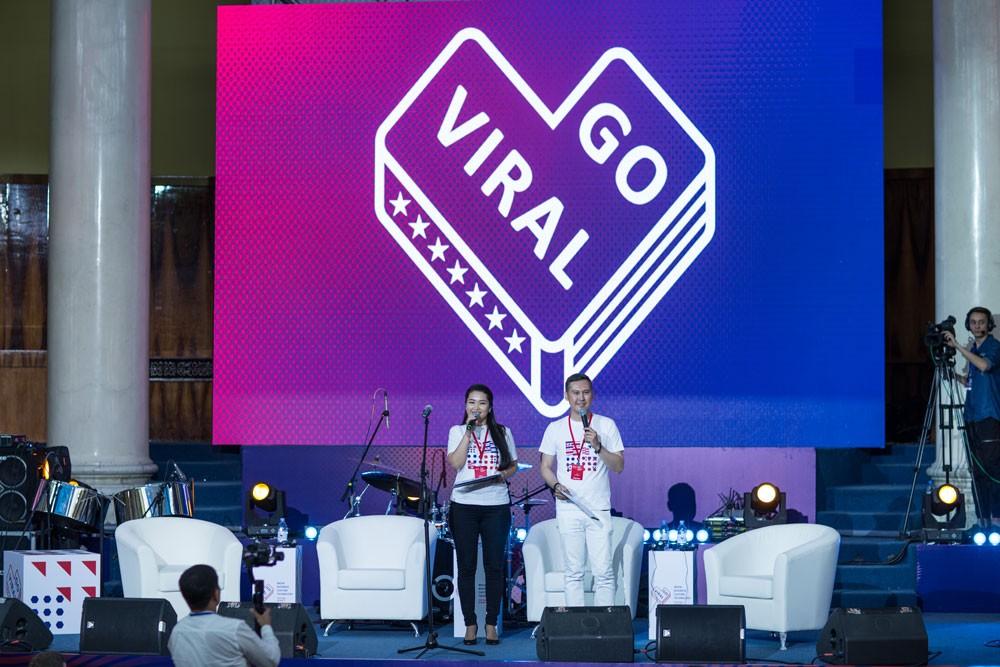 Алматы Казахстан событие фестиваль Госдеп США Go Viral 2019