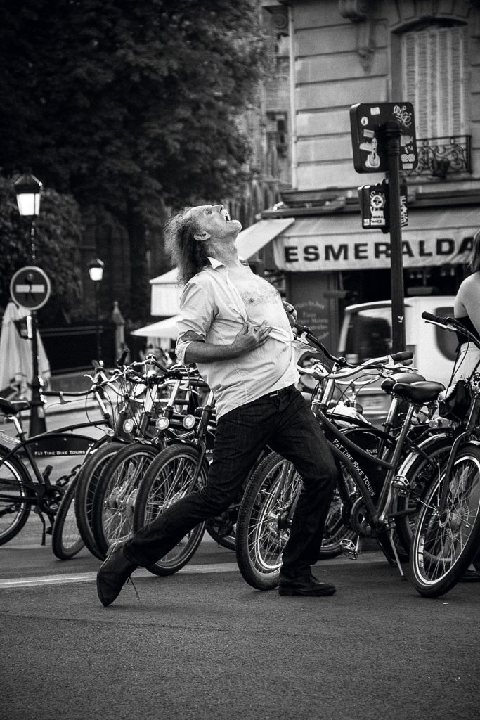 Сергей Ледяев история одного фото Париж танец