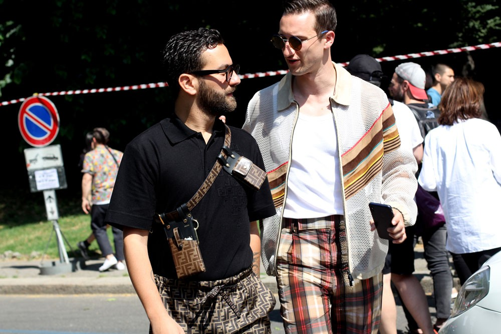 мужской моды третий день завершение Streetstyle
