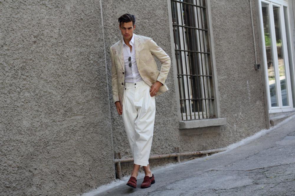 Милан Неделя мужской моды 2019 одежда стритстайл