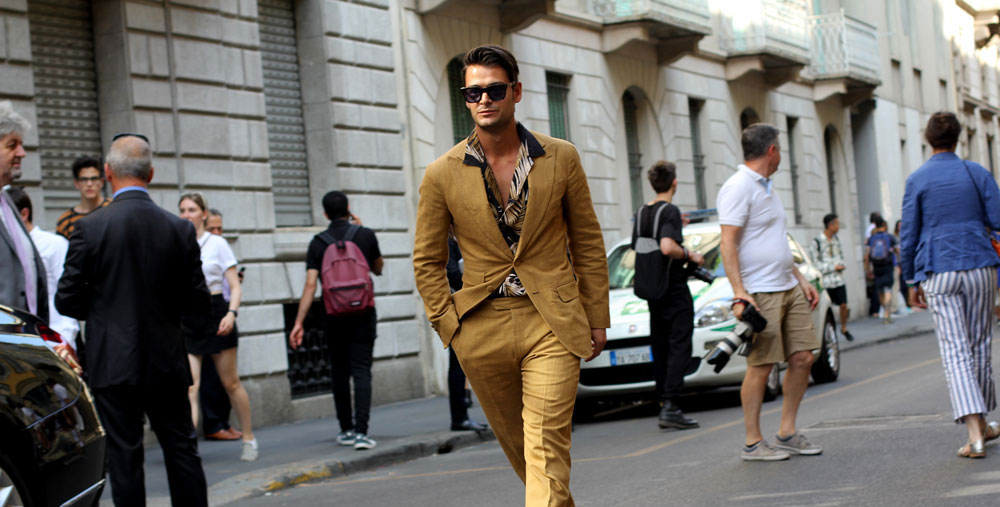 Завершение Недели мужской моды в Милане: Streetstyle
