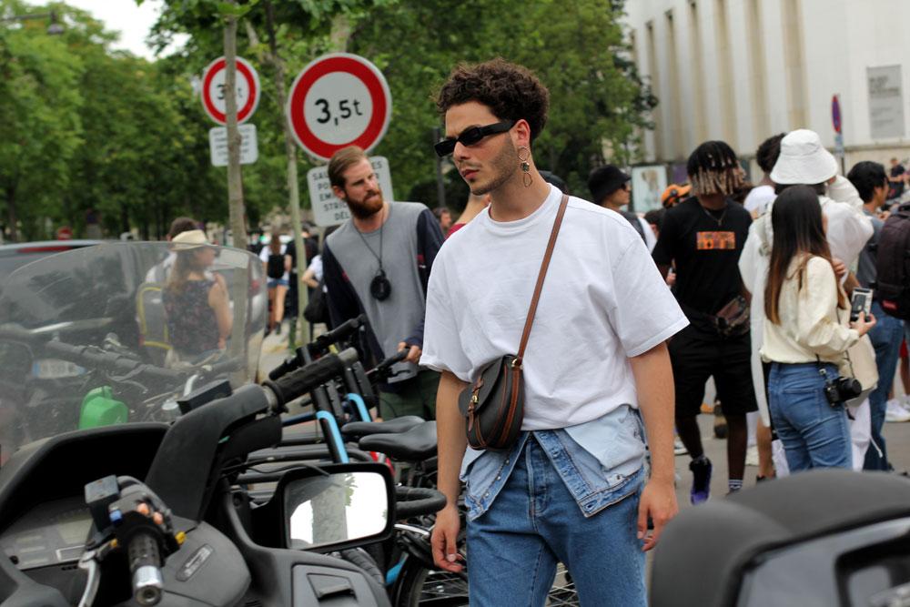 мужская одежда Франция образы