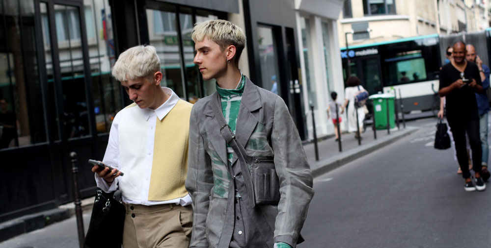 Streetstyle с Недели мужской моды в Париже-2019: день первый