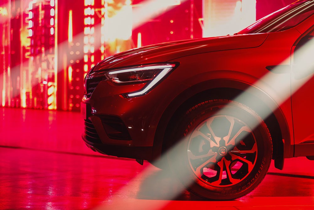 Renault Arkana автомобиль детали обзор качества квалификации