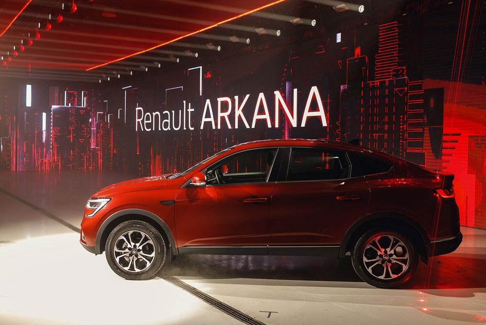 автомобиль детали обзор качества квалификации Renault Arkana
