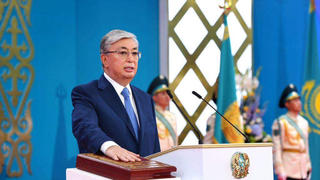 Токаев инаугурация президент РК Акорда Астана Нур-Султан