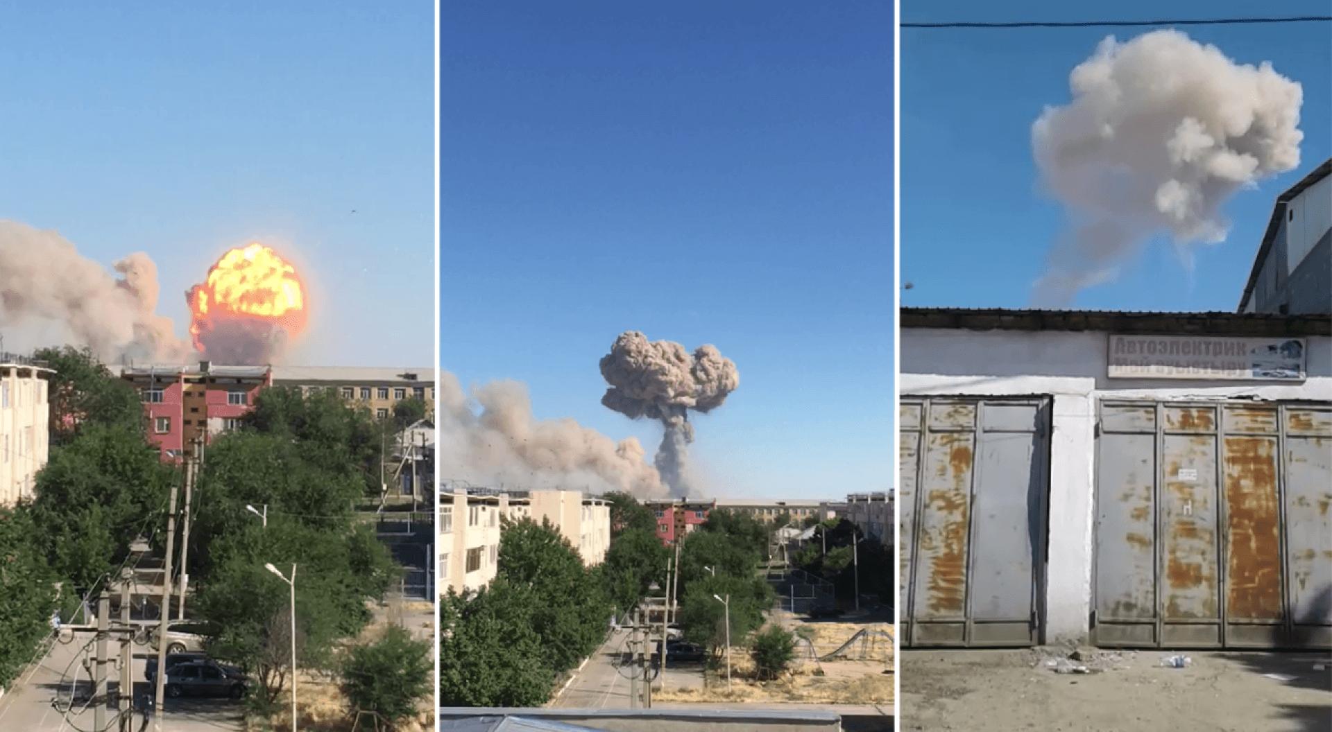 Объявлена эвакуация города Арысь