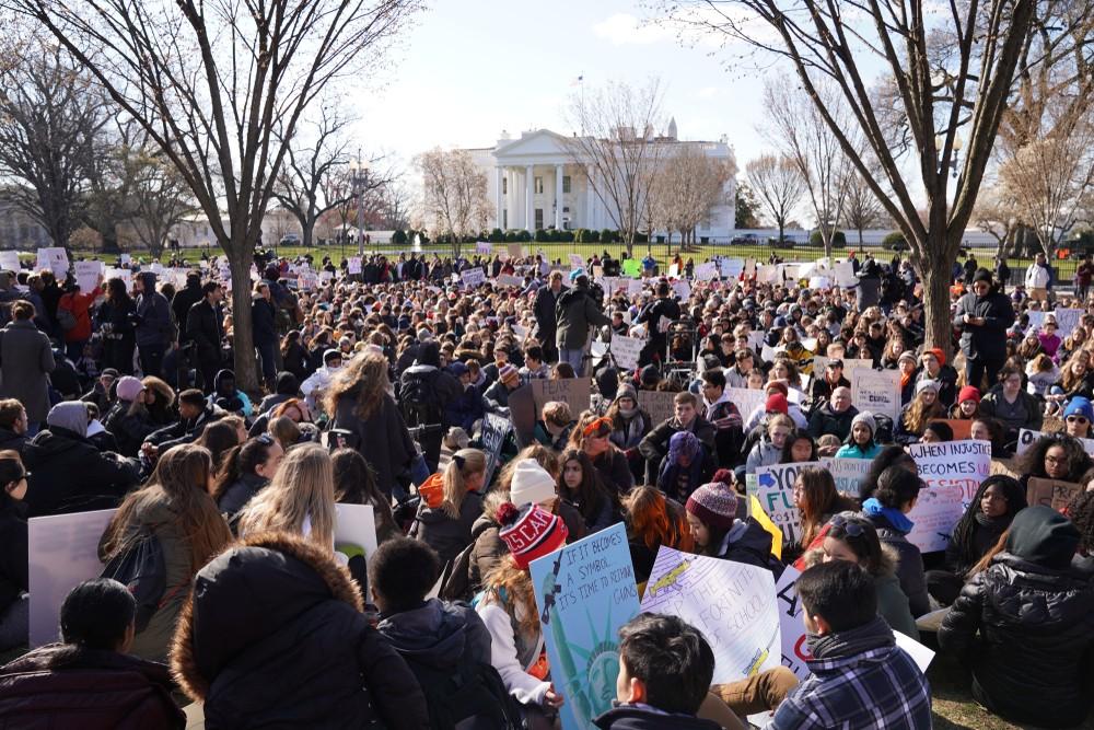 США Марш за наши жизни власть народа демонстрации
