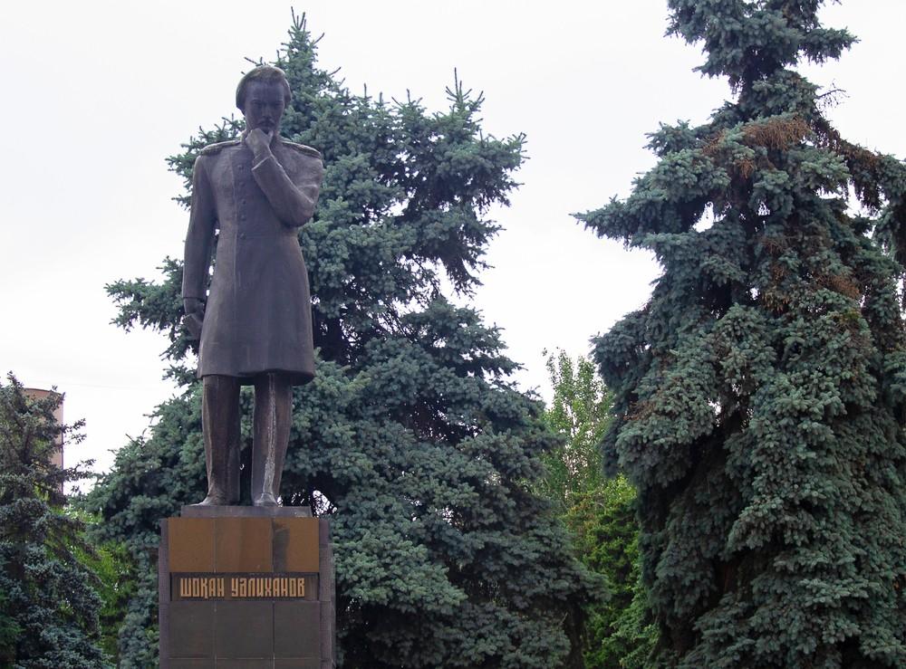 Абай Кунанбаев Чокан Валиханов Казахстан история писатели просветители встречались ли