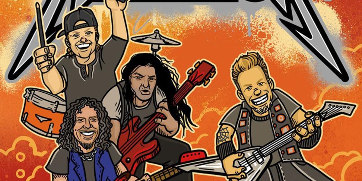 Metallica анонсировала выход детской книги в стихах