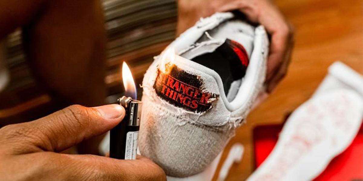 «Очень странные дела»: Nike выпустил кроссовки с отсылками к сериалу