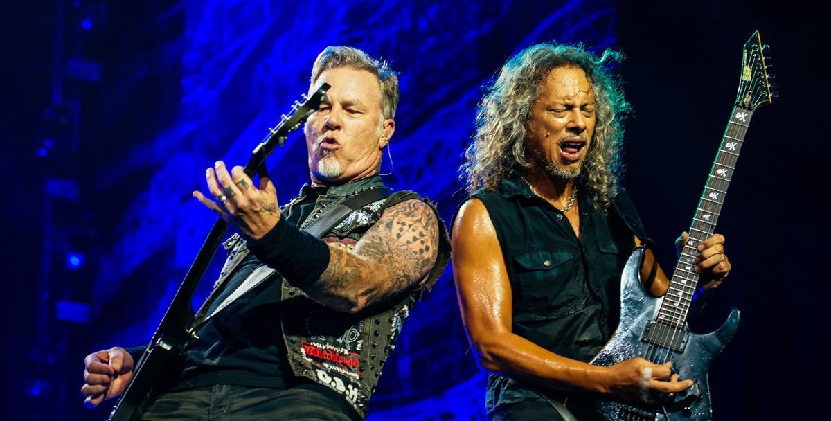 Metallica исполнила «Группу крови»