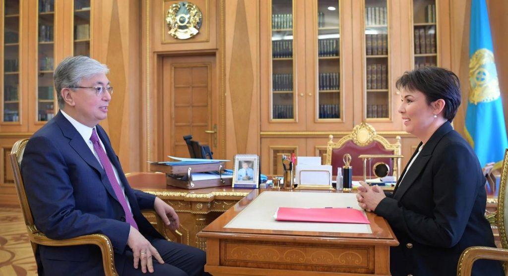 Аружан Саин стала детским омбудсменом