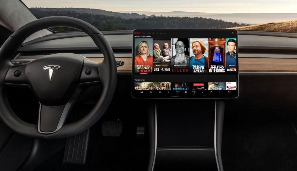 YouTube Netflix Tesla